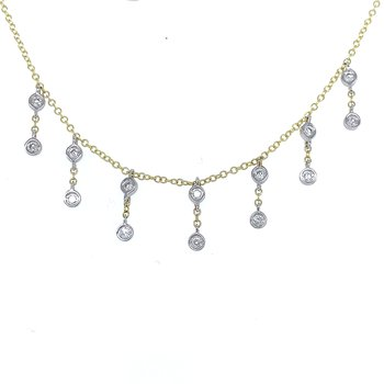 Meira T Station to Station Drop Necklace