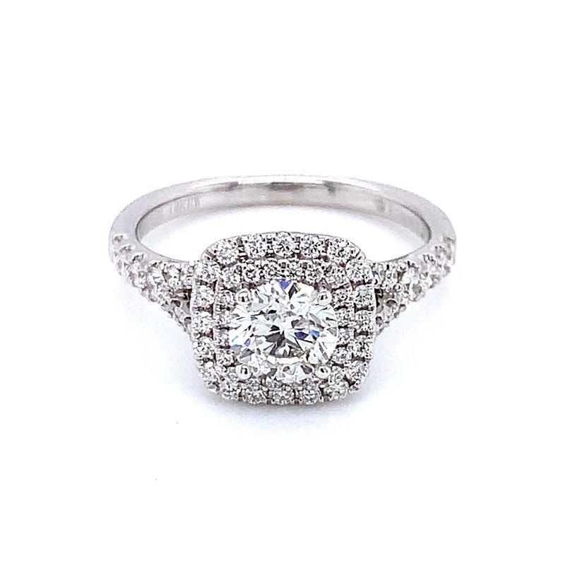 Romance Romance Double Halo Engagement Ring