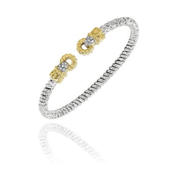 3mm Vahan Cuff with 0.11ctw diamonds