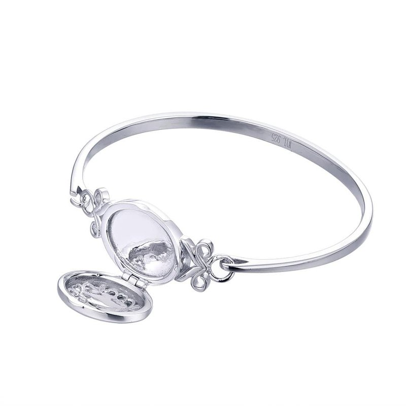 With You Aubrey Bangle Locket