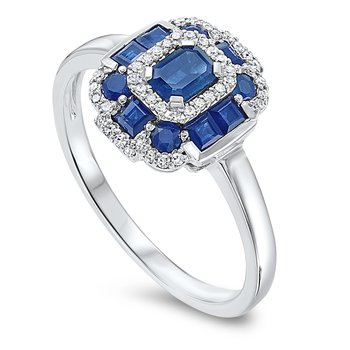 Radiance in Sapphire