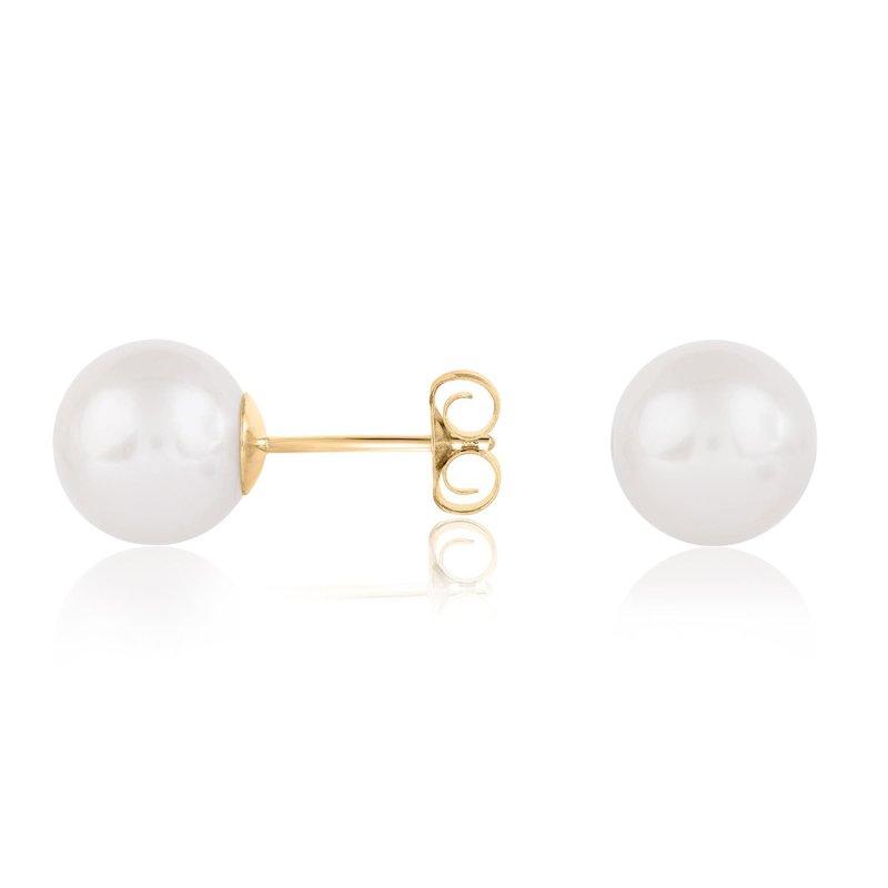 Bryan Beauties Akoya Cultured Pearl Earrings 7mm