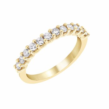 U-prong Diamond Band in 1/2ctw 14ky