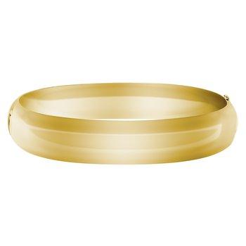 High Polished 12mm Bangle Bracelet