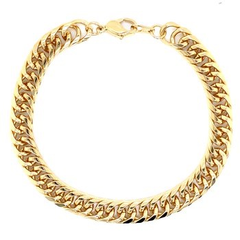 Forever Gold Cuban Bracelet