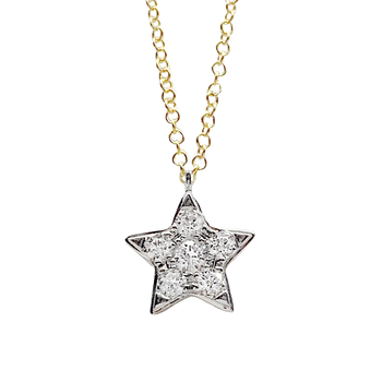 Star Shine Diamond Pendant