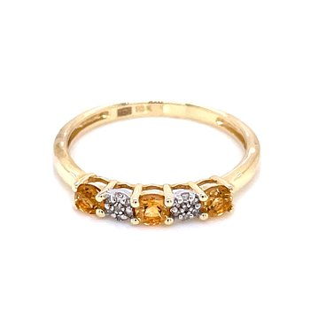 Citrine Stackable Band