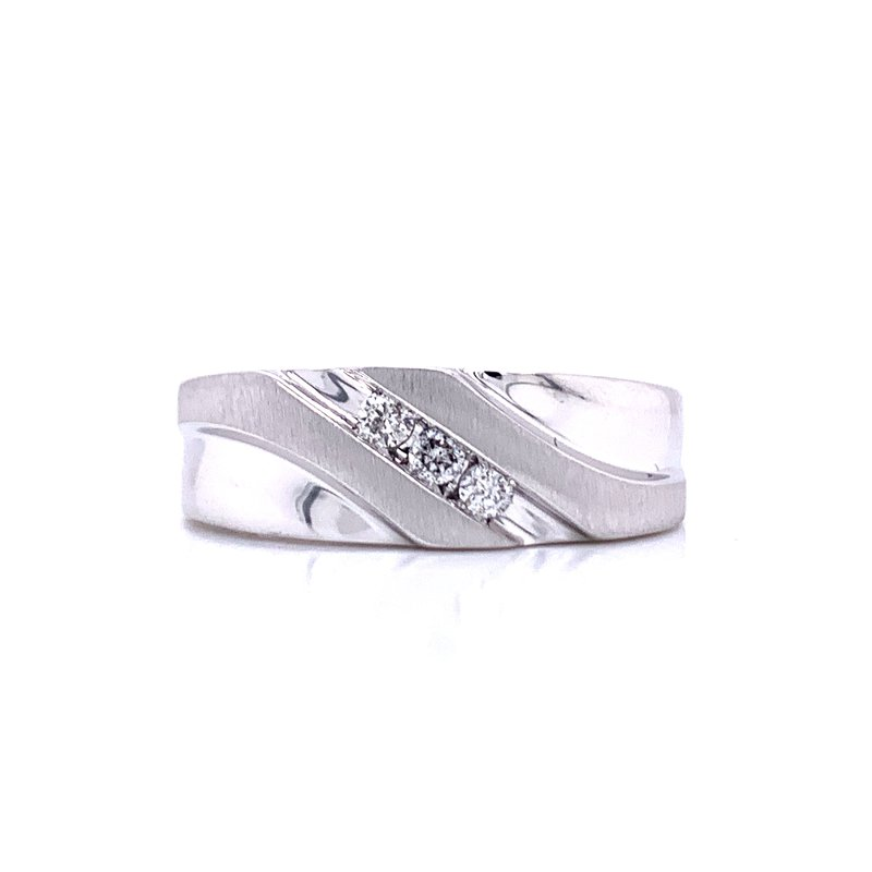 Bryan Beauties Gent's Diamond Wedding Band