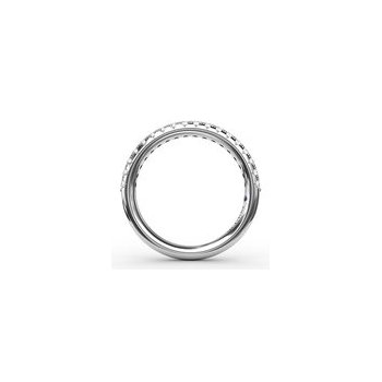 Delicate Classic Pave Anniversary Band-14kw