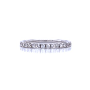 French Set Diamond Band 1/4ctw