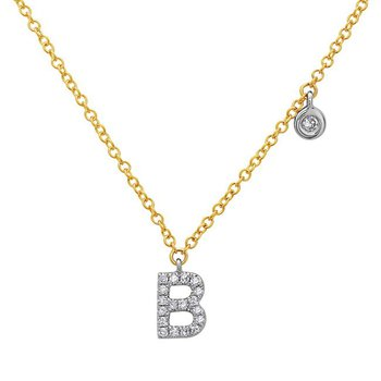 Bassali Initial Necklace