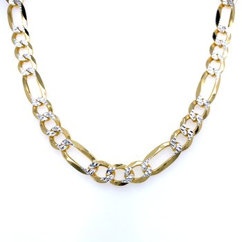 Figaro Chain - Yellow Vermeil - 20 inches
