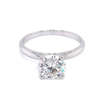 Evolve Lab Grown Diamond Solitaire Engagement Ring
