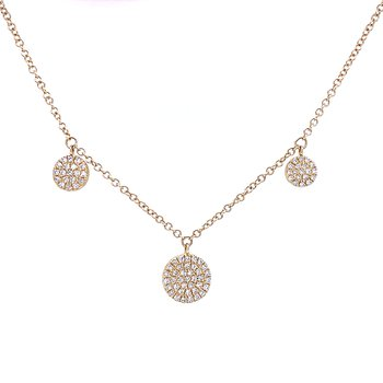 Bassali Sparkle Stations Necklace