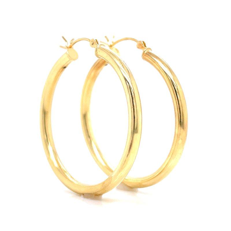 Bryan Beauties Gold Vermeil Hoops