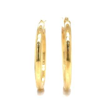 Gold Vermeil Hoops