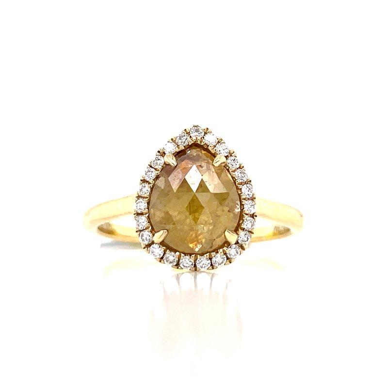 Bryan Beauties  Caramel Drop Diamond Ring