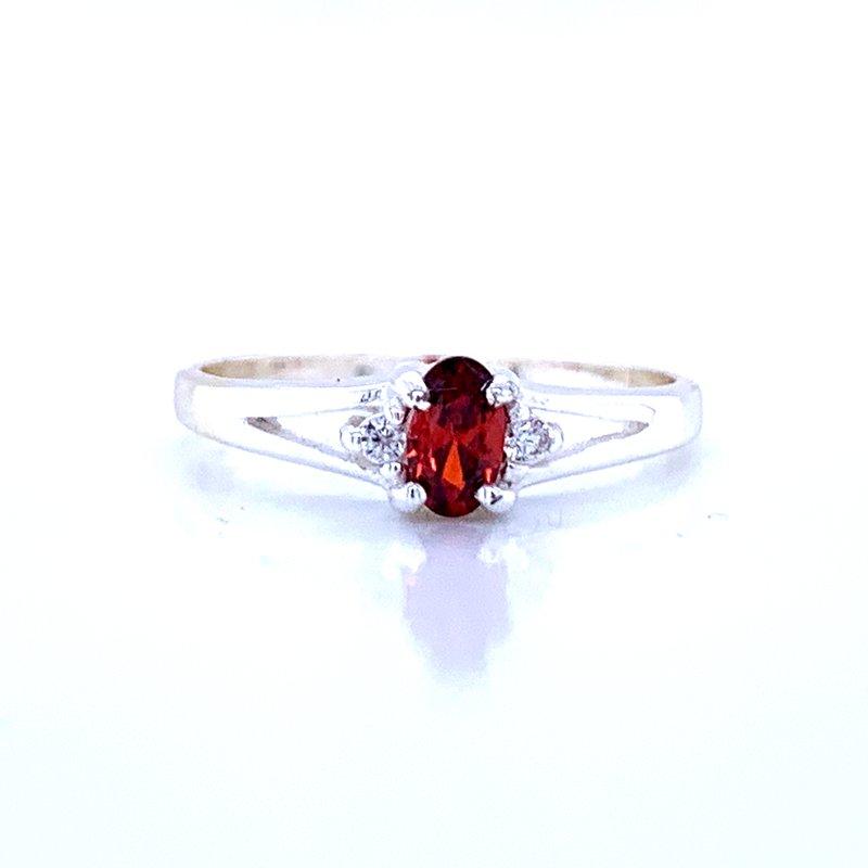 Bryan Beauties Children's January Birthstone Ring