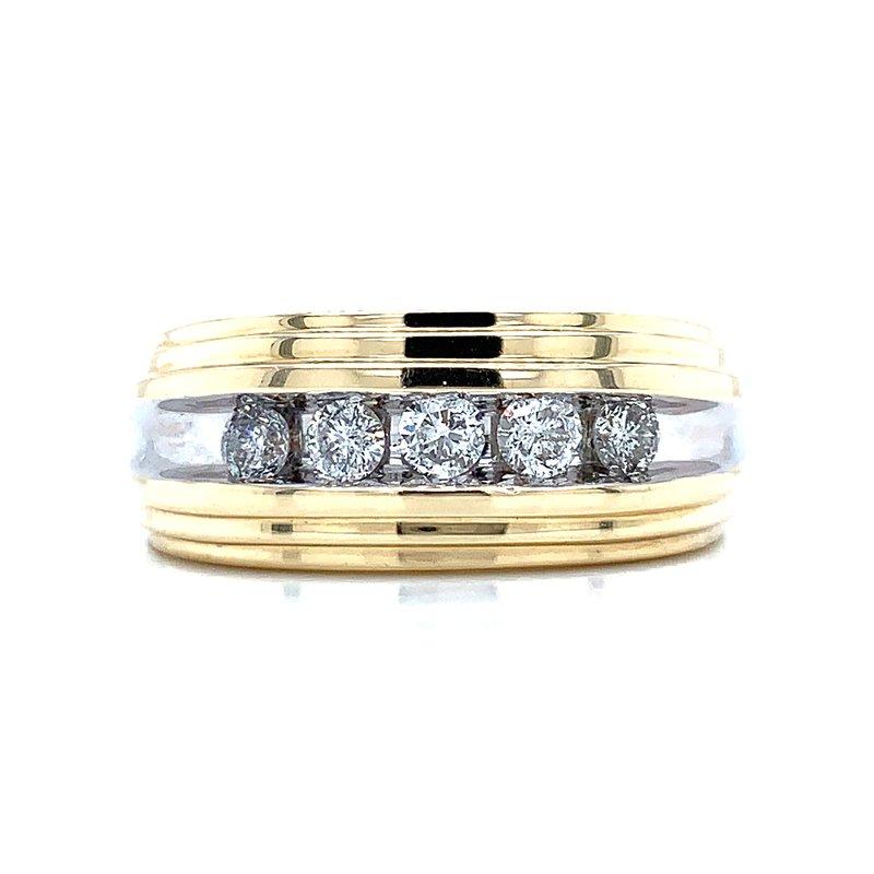 Bryan Beauties Gents Diamond Wedding Band 1/2ctw