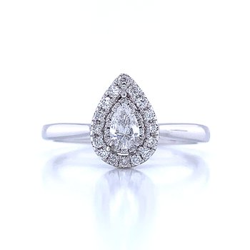 Tru-reflections Pear Shaped Ring