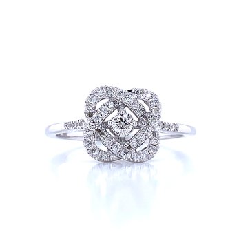Love's Crossing Diamond Ring-1/4ctw