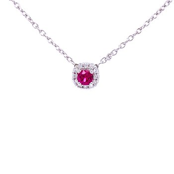 Sophisticated, Yet Simple Ruby Beauty