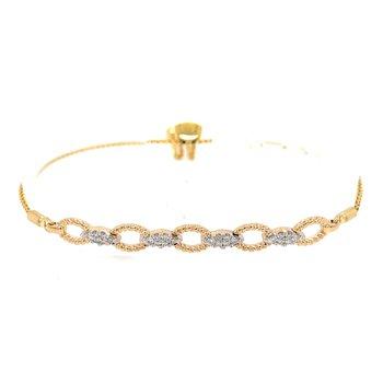 Friendship Style 1/4ctw Diamond Bracelet