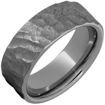 Thor—Rugged Tungsten™ Pipe Cut Band