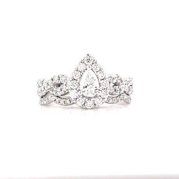 Bliss Bridal Pear Shape Wedding Set