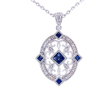 Sapphire Abounds in the Oval