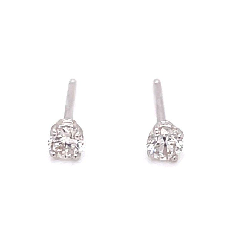 Bryan Beauties 1/5ctw Diamond Studs