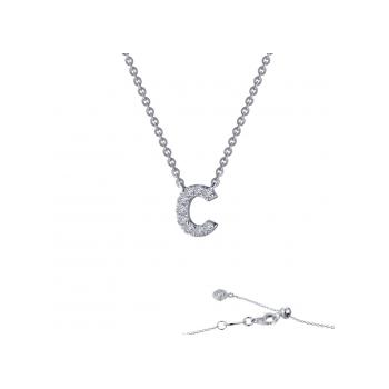"""C"" Initial Necklace"