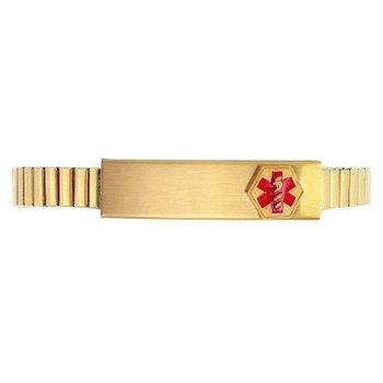 Stretch Medical ID Bracelet for a Lady