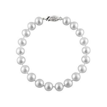 Freshwater Pearl Bracelet 7mm 14kw