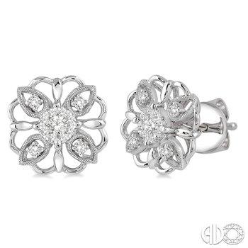 Open Flowers Earrings
