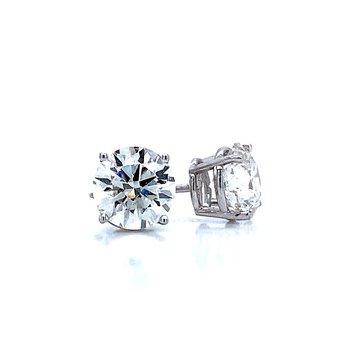 2ctw Diamond Studs-Lab Grown