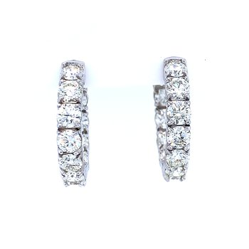 Major Status Diamond Hoops