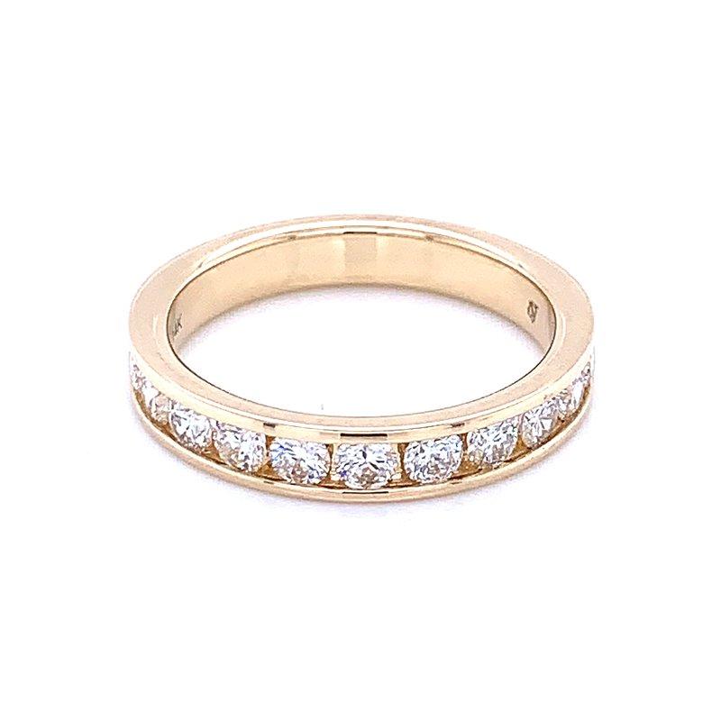 Bryan Beauties Channel Set Diamond Wedding Band 14ky-3/4ctw