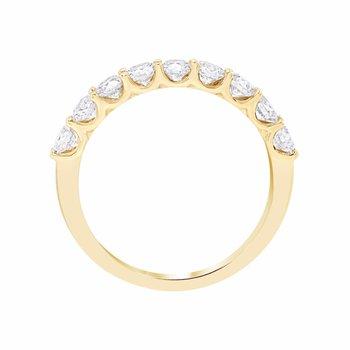 U-prong Diamond Band 1ctw 14ky