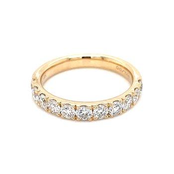 Prestigious Diamond Band-14ky-1ctw