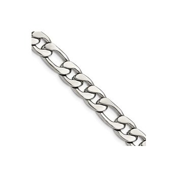 Stainless Steel Figaro Link Chain