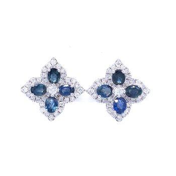 Irresistable Sapphire Earrings