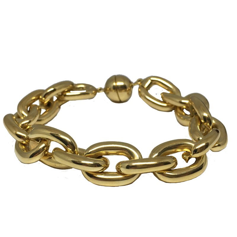 Aladdin Gold Creations Chunky Gold Bracelet