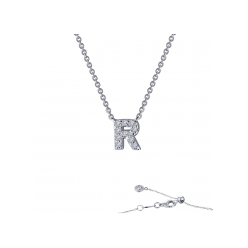 """""""R"""" Initial Necklace"""