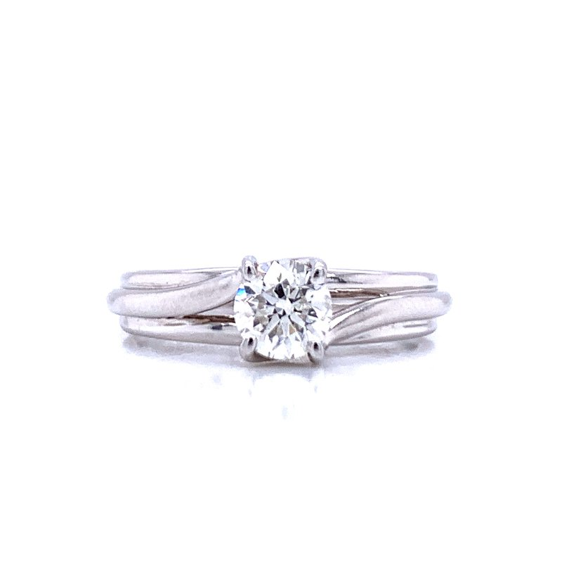 Bryan Beauties Solitaire with Sweeping Shank