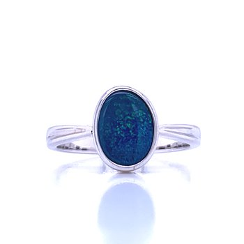 Opal Doublet Fashion Ring