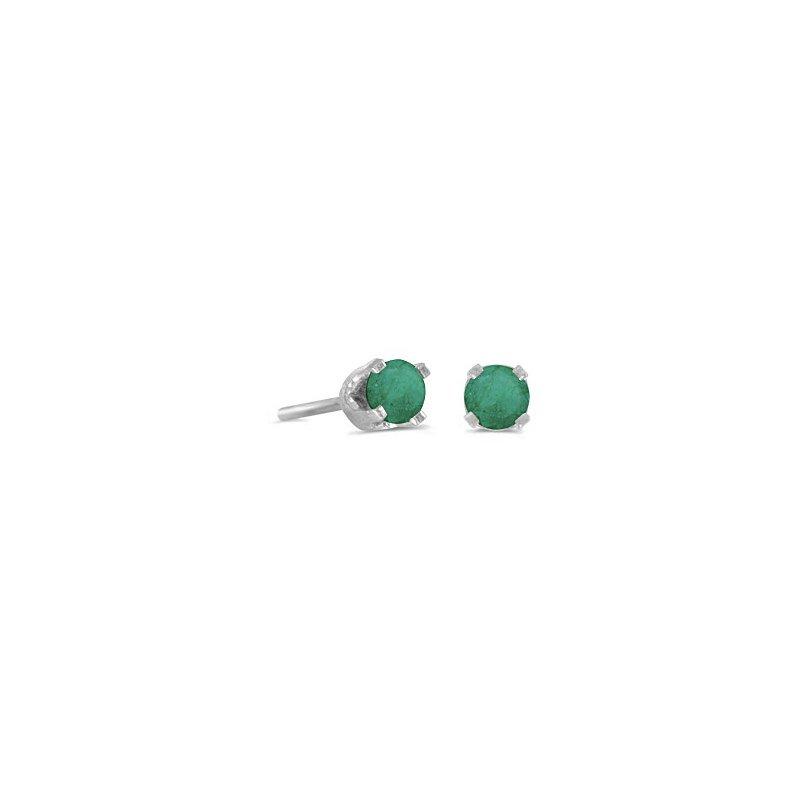Bryan Beauties Emerald Studs-4mm