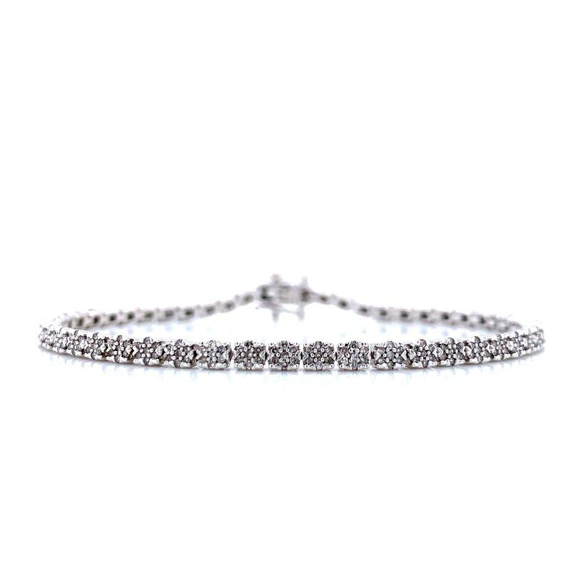 Bryan Beauties 1ctw Diamond Tennis Bracelet