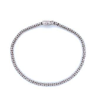 1ctw Diamond Tennis Bracelet