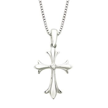 Diamond Accented Cross